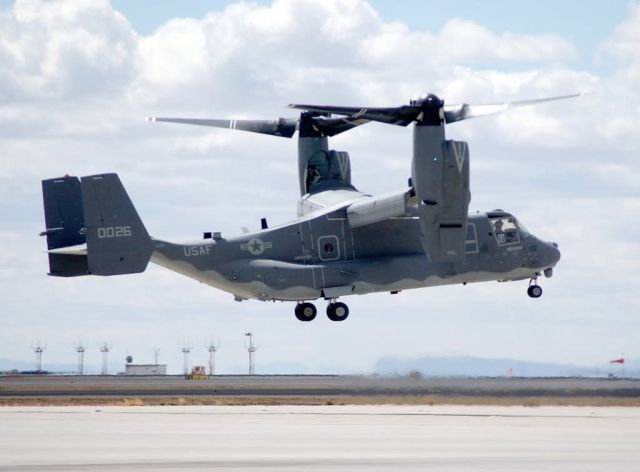 CV-22 Osprey - Osprey gets new nest Picture