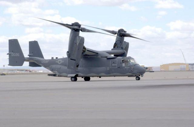 CV-22 Osprey - Osprey gets new nest Picture