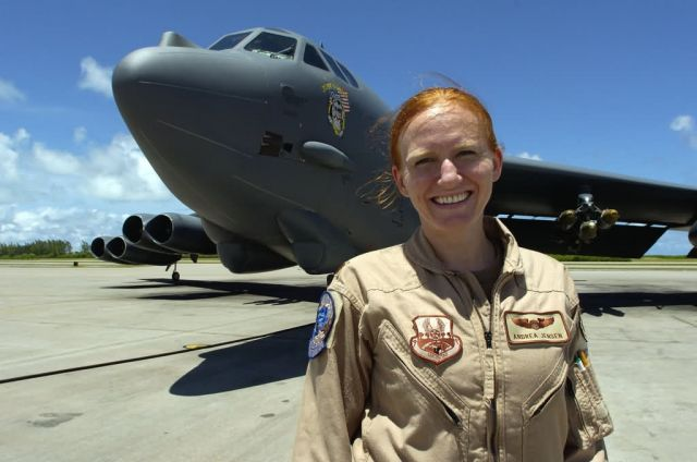 B-52 - B-52 pilot shares her Air Force experiences, contributions Picture