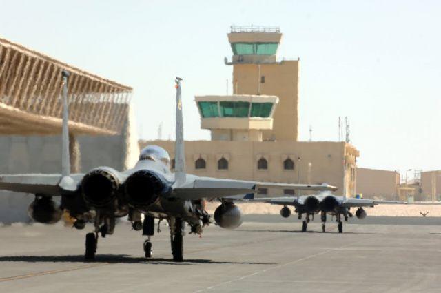 Two F-15E Strike Eagles - Strike Eagles ready to strike Picture