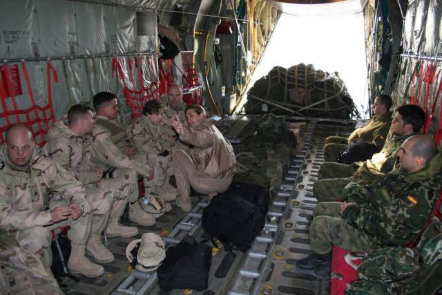 C-130 Hercules - Coalition troop movement Picture