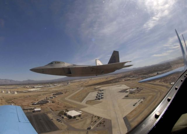 Langley Air Force Base - Heritage flight Picture