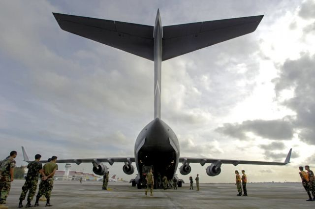 C-17 Globemaster III - Supply delivery Picture