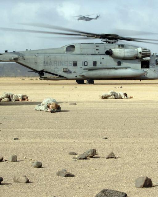 CH-53 Super Stallion - Search and rescue Picture