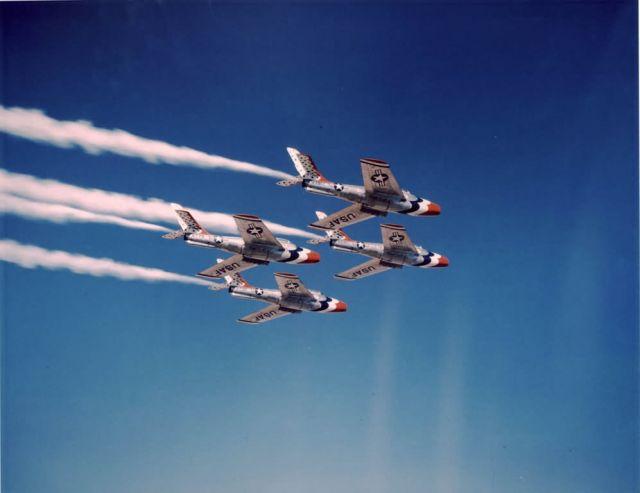 F-84F Thunderstreak - F-84F, Thunderbirds Picture