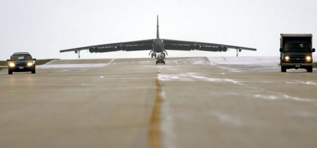 B-52 Stratofortresses - Bombers at Andersen Picture
