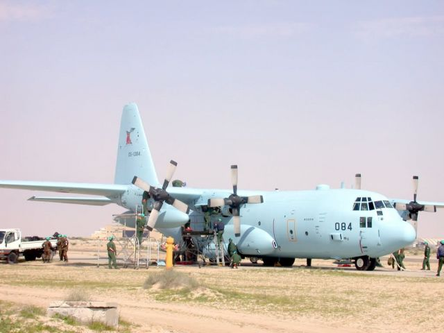 C-130H - Japanese forces arrive Picture