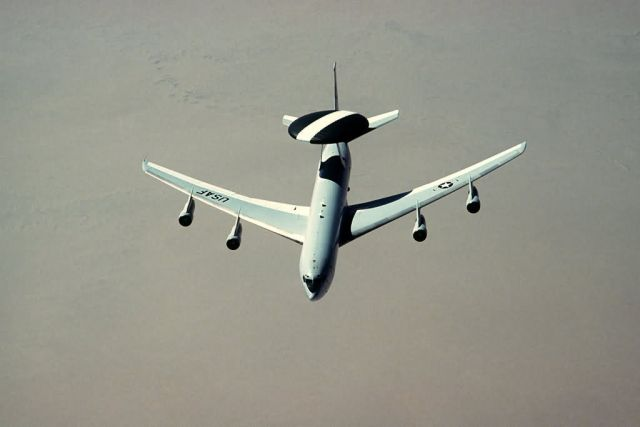 An E-3 Sentry aircraft Picture