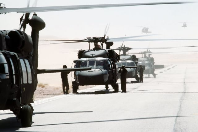 UH-60A Black Hawk helicopters Picture