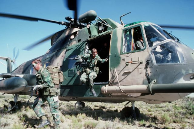 HH-3E Jolly Green Giant helicopter - Exercise Patriot Coyote Picture