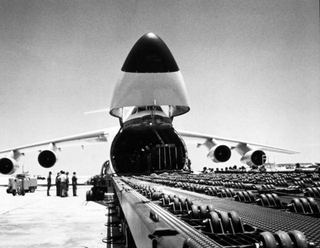 C-5 Galaxy - Cam Rahn Bay Air Base, South Vietnam Picture