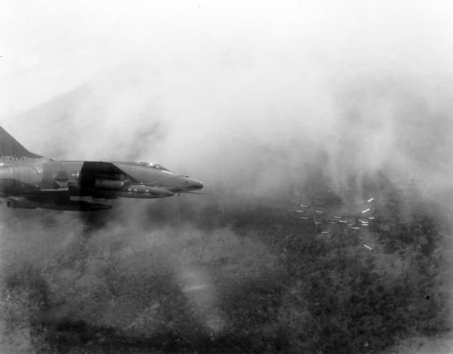 An Air Force F-100 Super Sabre Picture
