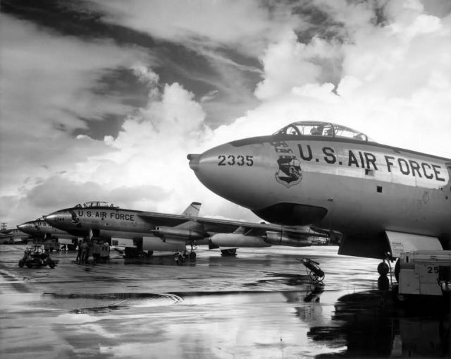 Strategic Air Command B-47 Stratojet bombers Picture