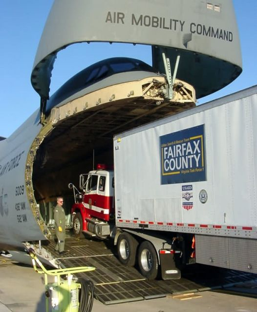C-5 Galaxy - Help is on the way Picture