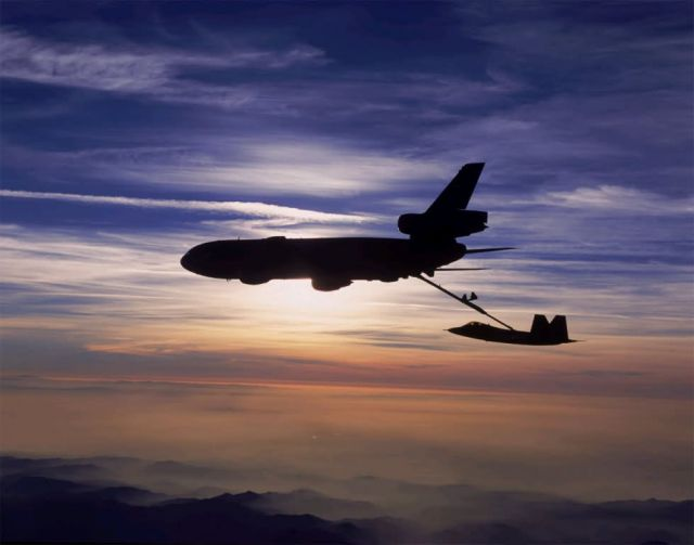KC-10 Extender - F-22 and beyond Picture