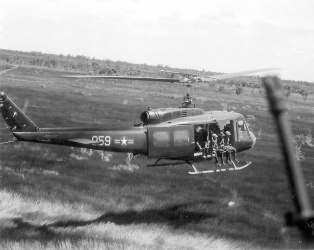 UH-1 Helicopter - Vietnam War Picture