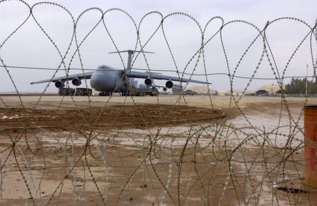 C-5 Galaxy - Behind the wire Picture