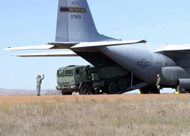 C-130 Hercules - Fast fire Picture