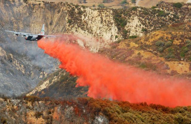 C-130E Hercules - California Fires Picture