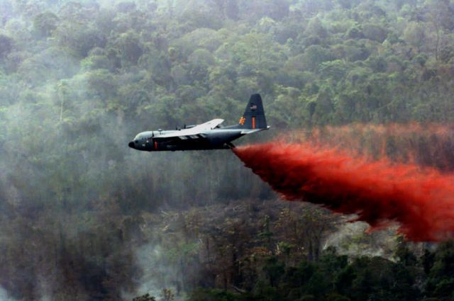 C-130 Hercules - Fighting wildfires Picture