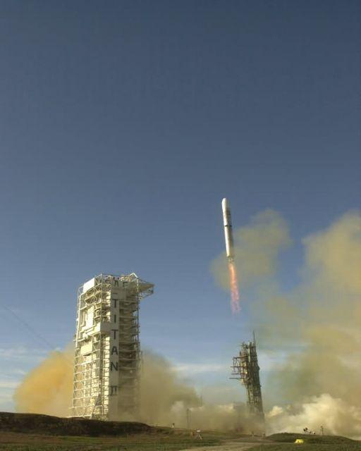 Titan II - Titan II launched Picture