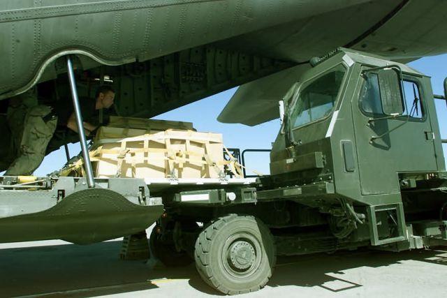 C-130 Hercules - Unloading cargo Picture