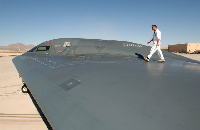 B-2 Spirit Bomber - On a wing and a prayer Picture