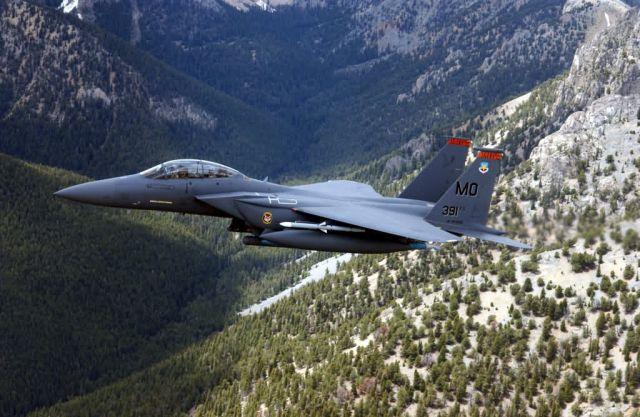F-15E Strike Eagle - Strike Eagle prowling Picture
