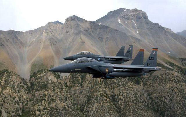 F-15E Strike Eagles - Strike Eagles hunting Picture