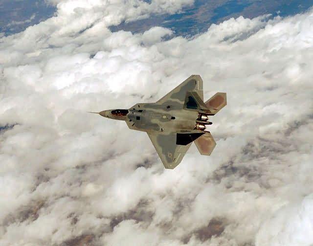 F/A-22 - Lone Raptor Picture