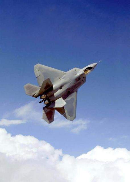 F/A-22 - Blue skies Raptor Picture