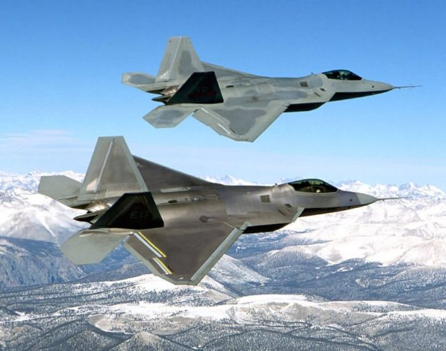 F/A-22 - Raptor duo Picture