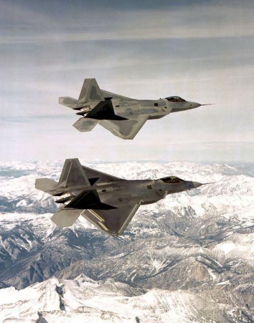 F/A-22 - Raptor flight Picture