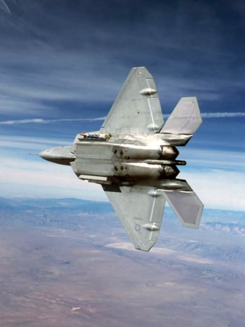 F/A-22 Raptor - Raptor claws Picture