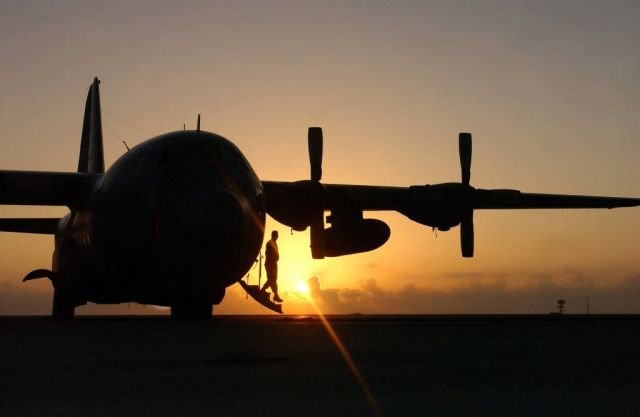 C-130 Hercules - Daybreak Picture
