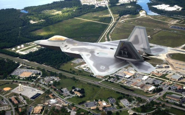F/A-22 - Home base Picture