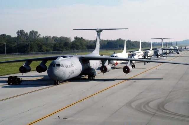 C-141 Starlifters - Standing by Picture