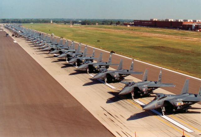 F-15E Strike Eagles - Standing by Picture