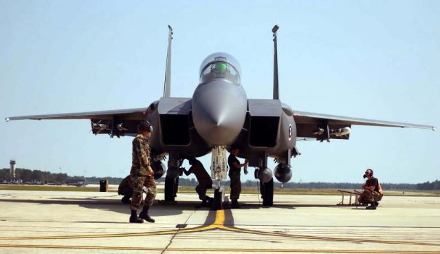 F-15E - Flight check Picture