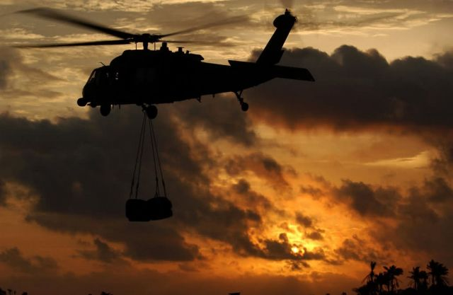 HH-60G Pave Hawk - Into the setting sun Picture