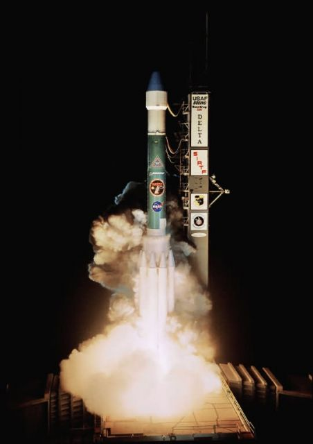 Delta II - Delta II launch Picture