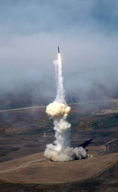 VANDENBERG AIR FORCE BASE - Blast off Picture