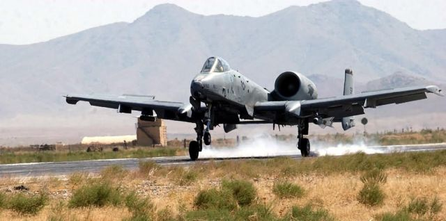 A-10 Thunderbolt II - First mission Picture