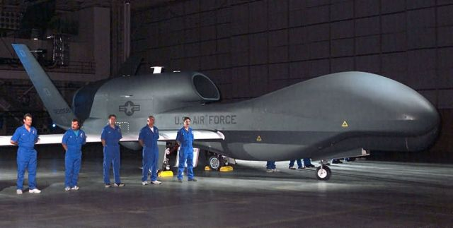 RQ-4A Global Hawk - Production Global Hawk debut Picture