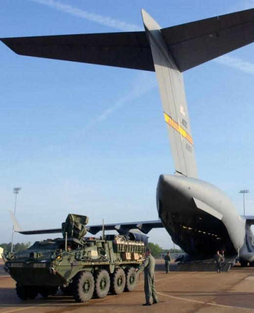 C-17 Globemaster III - Stryker gets a lift Picture