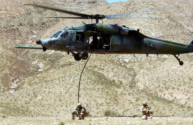 HH-60G Pave Hawk - Hover and cover Picture
