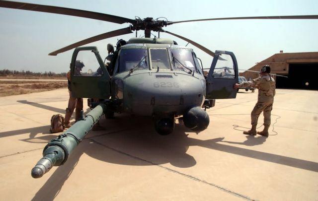 HH-60G Pave Hawk - Preflight check Picture