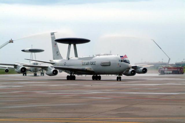 E-3 Sentry - AWACS return Picture