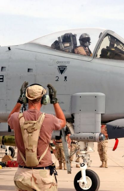 A-10 - To the fight Picture