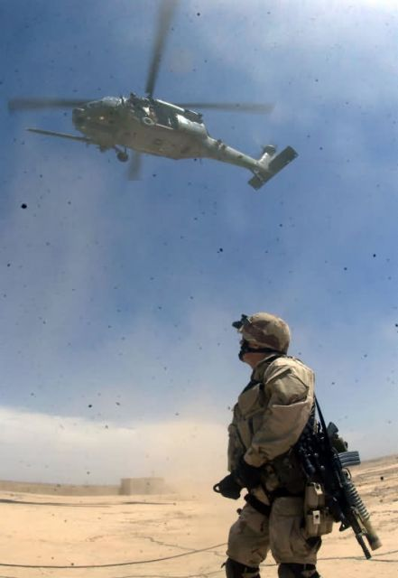 Operation Iraqi Freedom - Dust off Picture